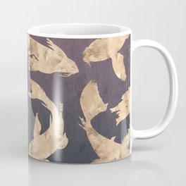 Gold Ocean Coffee Mug