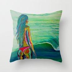 Summer Dayz Throw Pillow