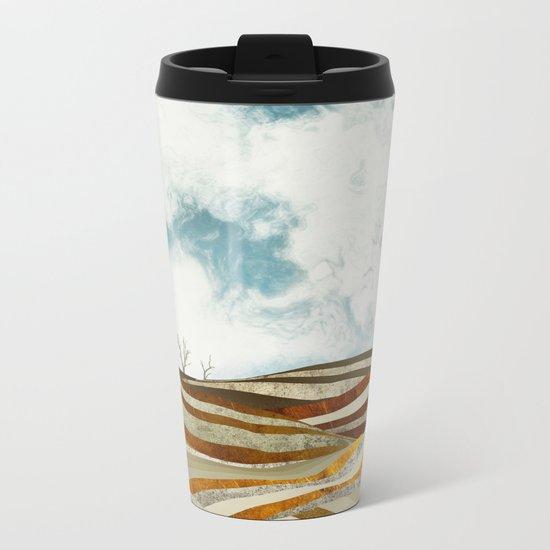Desert Calm Metal Travel Mug