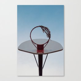 Shooting Hoops Canvas Print