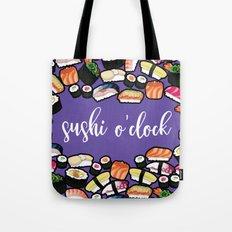 sushi o'clock Tote Bag