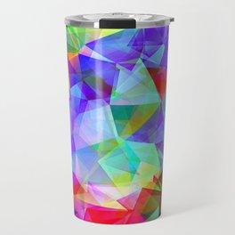 polygons Travel Mug