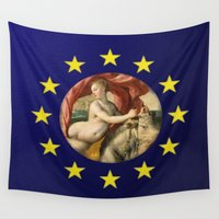 europe Wall Tapestries featuring Europe by Turul