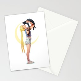 Usagi and Luna Stationery Cards