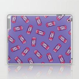 Girl Power Pattern in Purple Laptop & iPad Skin