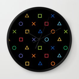 Colofrul Gamer Wall Clock