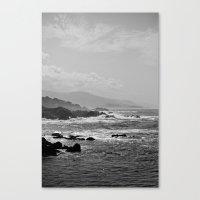 big sur Canvas Prints featuring Big Sur by Christoffer Eriksson