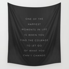 One Of The Happiest Moments In Life Wall Tapestry