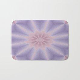 Pink and Lilac 3D Flower Three Bath Mat