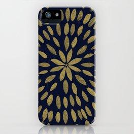 Mandala Flower #1 #gold #drawing #decor #art #society6 iPhone Case
