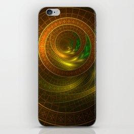 Inside the Boundless Cornucopia of an Endless Fractal Autumn iPhone Skin