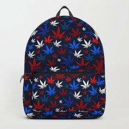 American Weed Pattern Backpack