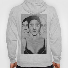 my incomplete faces Hoody