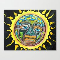 sublime Canvas Prints featuring sublime by haysor