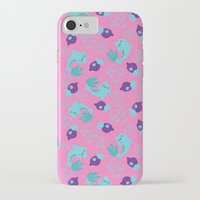dolphins iPhone & iPod Cases featuring dolphins by lindseyclare