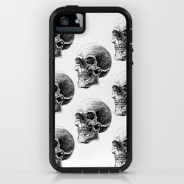 Skull pattern 2 iPhone Case