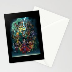 Lil' Super Friends Stationery Cards