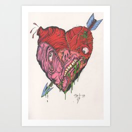 For the lovers.... Art Print
