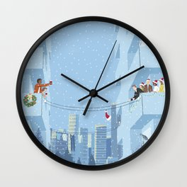 Pass the Cheer 1 Wall Clock