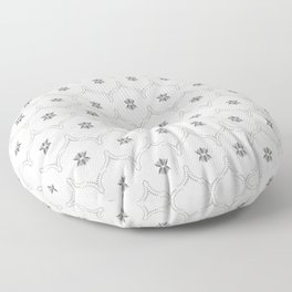 WILDFLOWER JASMIN GREY Floor Pillow