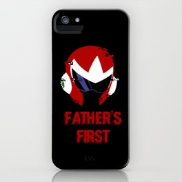 Father's First iPhone Case