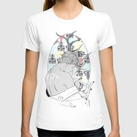 fawn T-shirts featuring Fawn by Cassandra Jean