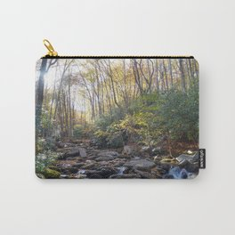 Boone Fork Creek in Autumn Carry-All Pouch