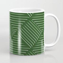 Diagonal Stripes Background 34 Coffee Mug