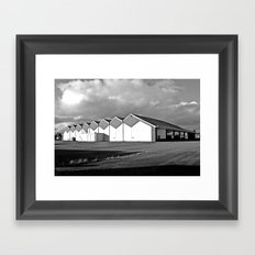Bowling architecture Framed Art Print