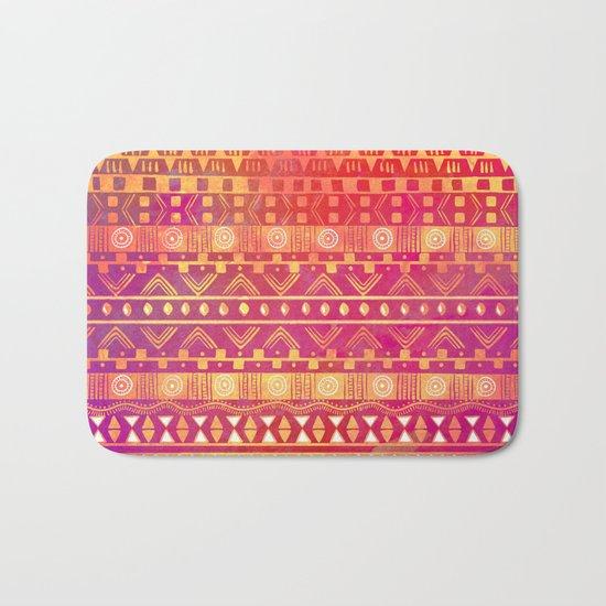 Inspired Aztec Pattern Bath Mat