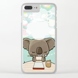 Hungry Dream Clear iPhone Case