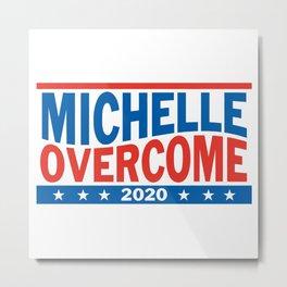 Michelle Overcome 2020 Metal Print