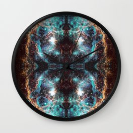Space Mandala #39 Wall Clock