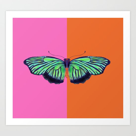 Hal Color Block Art Print
