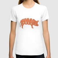 bacon T-shirts featuring bacon by nino benito
