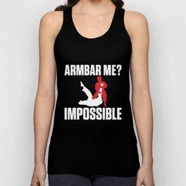 Armbar Me? Impossible Funny BJJ Jiu-Jitsu Unisex Tank Top