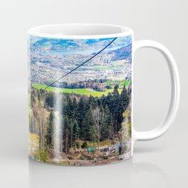 Winter Gondola Ride to Lucerne Coffee Mug