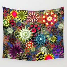 Psychedelic State of Mind Wall Tapestry