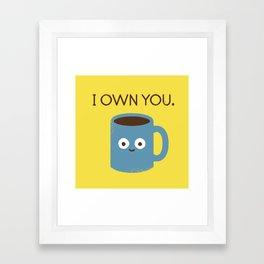 Coffee Talk Framed Art Print