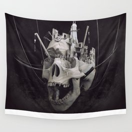 the end tealanb Wall Tapestry