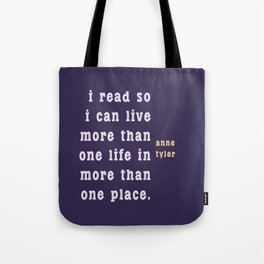 I read so I can live... Tote Bag
