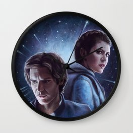 I Thought You Had Decided To Stay Wall Clock