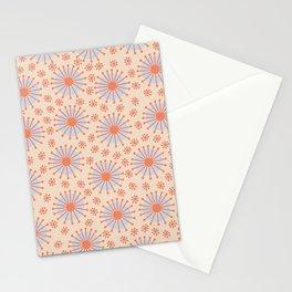 Carousel Retro Blue Stationery Cards