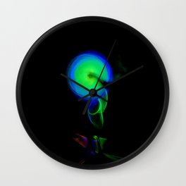 AROUND WE GO Wall Clock
