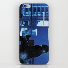 how do you know when to leave and when to stay? iPhone Skin