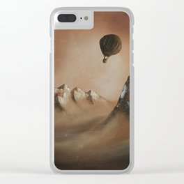 Around the world in 80 days by Jules Verne Clear iPhone Case
