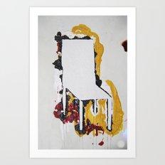 Chair.4 Art Print