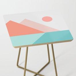 Geometric Landscape 13 Side Table