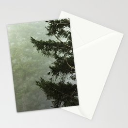Foggy Forest Wanderlust Adventure III - 116/365 Nature Photography Stationery Cards
