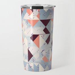 Abstract Sky Travel Mug